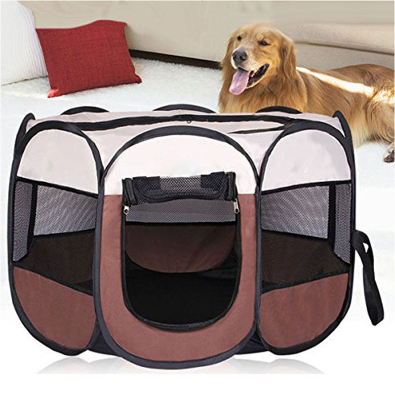Portátil jaula para perro plegable para mascotas tienda casas corralito cachorro perrera...