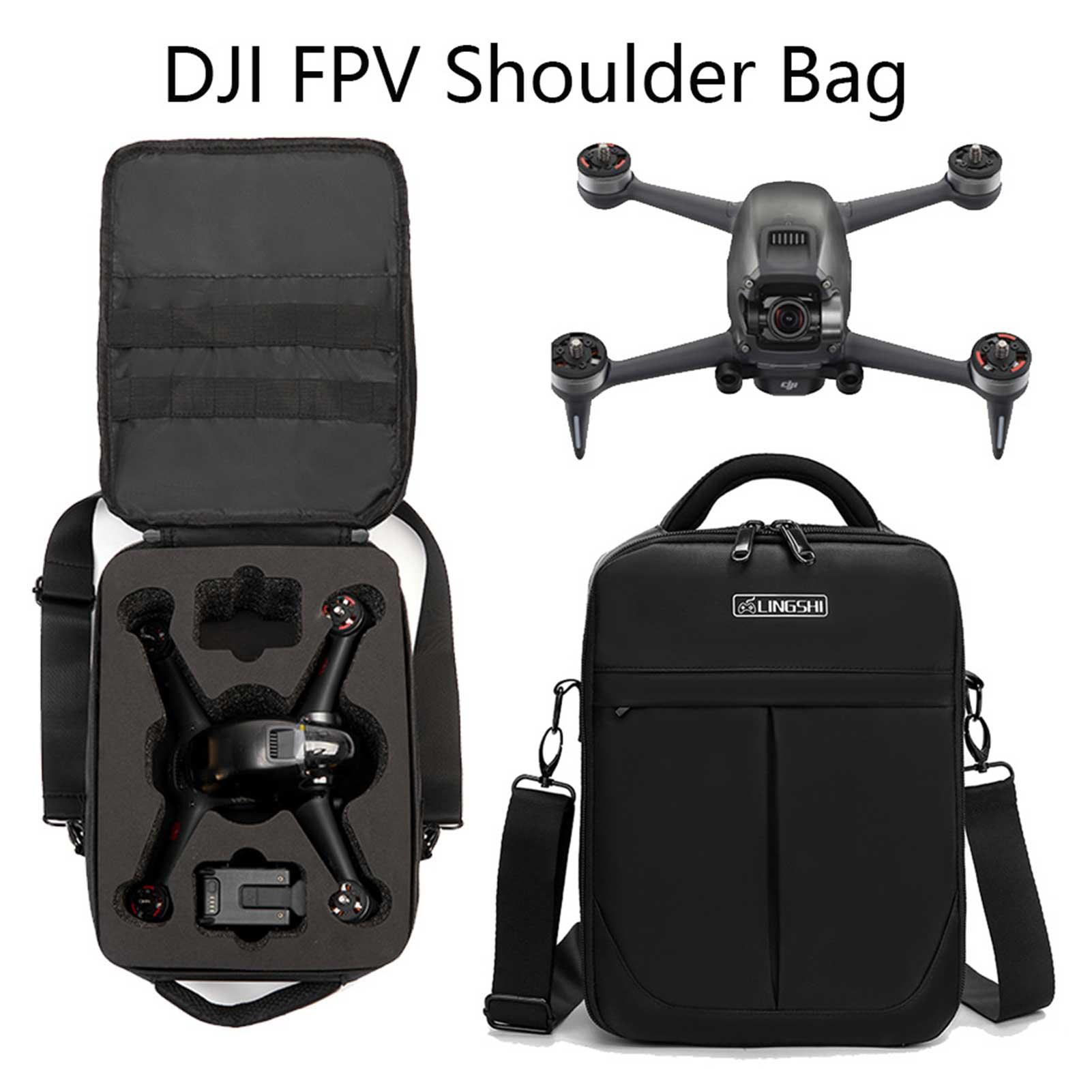 2021New Shoulder Bag Backpack for DJI FPV Drone Accessories Shockproof Shoulder Carry Case Storage Bags