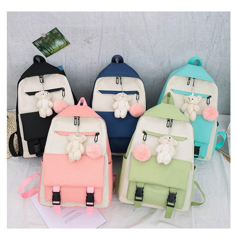 Рюкзак с защитой от кражи, женские роскошные брендовые рюкзаки для женщин 2021, Модный женский рюкзак для мальчиков, школьные рюкзаки для дево...