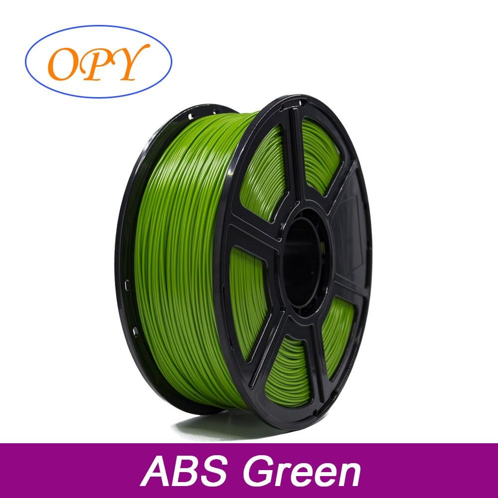 Abs フィラメント 1 75 ミリメートル 1 キロ 3D プリンタプラスチック材料白黒 10 メートル 100 グラムのサンプル
