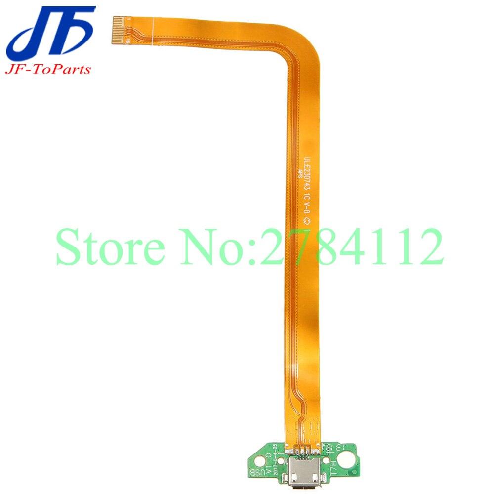 10 piezas de repuesto para HP Slate 7 USB puerto de carga Conector Micro Flex Cable Ribbon piezas de reparación
