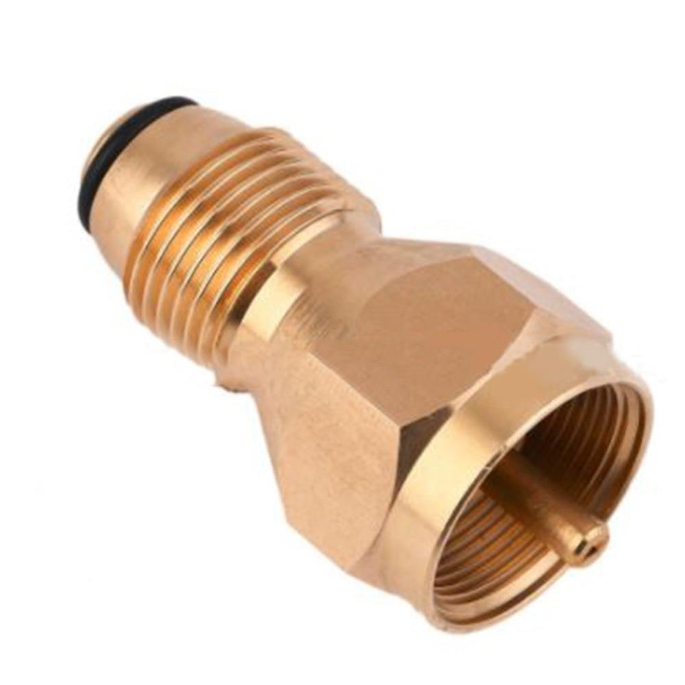 Propane Refill Adapter Lp Gas 1 Lb Cylinder Tank Coupler Heater Bottles Safe Legal Propane Bottle Refill Alternative.