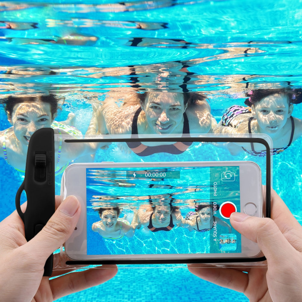 IPX68 Universal WaterProof Phone Case Cover Water Proof Phone Bag for IPhone 12 11 Pro Max 8 7 Huawe