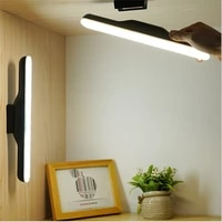 usb charging led table lamp stepless dimming hanging magnetic night lights read learn desk lamp led cabinet wardrobe closet lamp