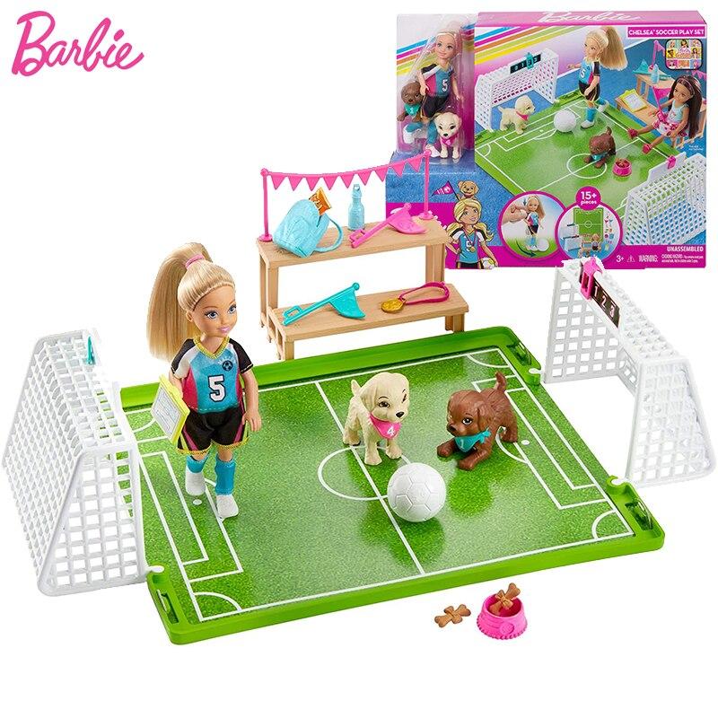 Muñecas Barbie originales de 6 pulgadas para niñas, juego de juguetes con...