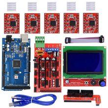 3D Drucker Kits RAMPS 1,4 Mega2560 12864 LCD Controller A4988 für Arduino Reprap