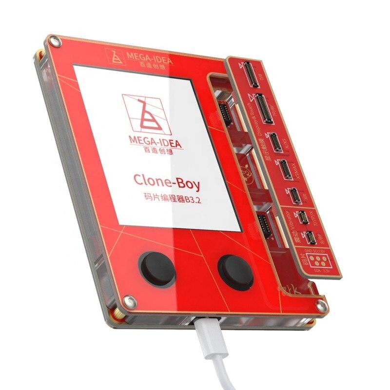 QianLi ميجا فكرة شاشة LCD صحيح لهجة إصلاح مبرمج الاهتزاز حساس للضوء ل IPhone7 8 8p x XR XS ماكس