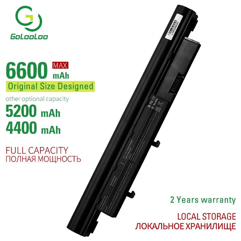 Golooloo-Batería de 6 celdas para ordenador portátil, para Acer Aspire 3410 3810T...