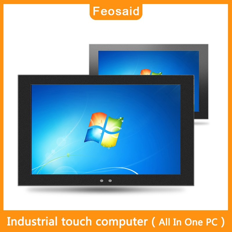 Feosaid 23.6 inch embedded Industrial Resistive touch computer 24