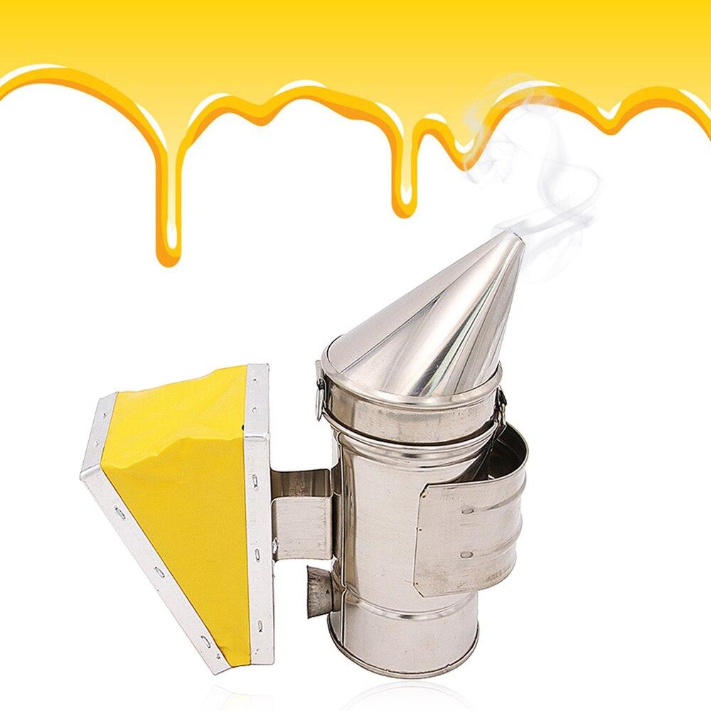 Manual do Fabricante De Fumaça Colmeia Da Abelha abelha Transmissor Kit de Equipamentos Em Aço Inoxidável para o Apicultor Apicultura Apicultura Ferramenta de Alta Qualituy