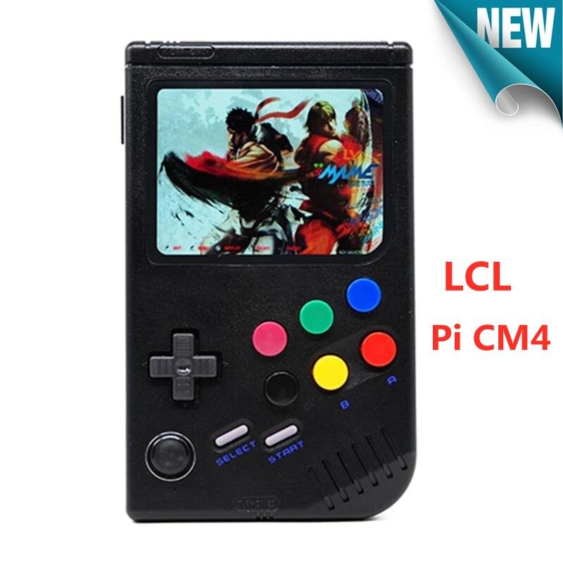 Console para o Jogo Tela com 10000 Novo Raspberry Retro Game Menino Portátil Handheld Jogador 3.5 Polegada Ips Jogos pi Cm4