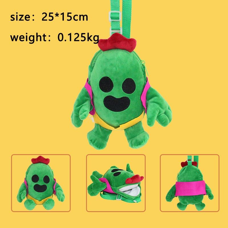 Brawling Plush stars Backpack Baby Toy School Bag Kids Outdoor Travel Pack Student Kindergarten soft child backpack