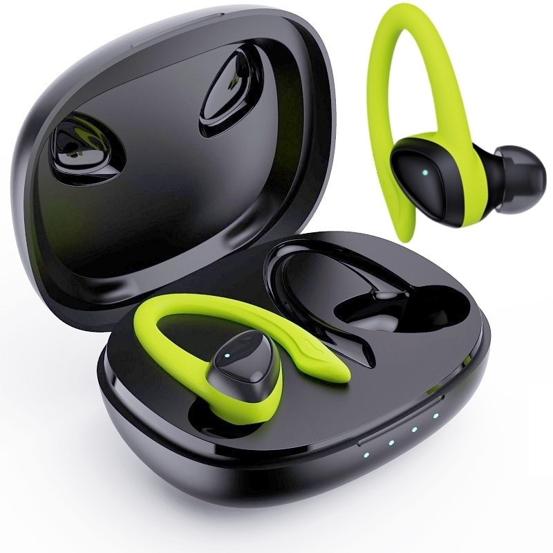 Bluetooth 5.0 Earphones With Charging Box Wireless Headphone 9D Stereo Sports Waterproof Earbuds Headsets With Microphone
