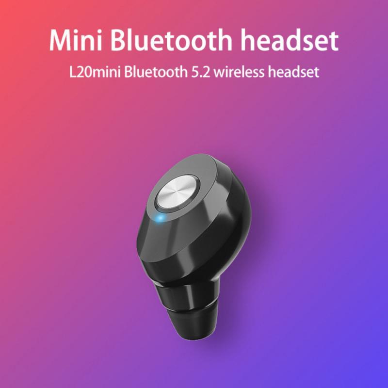 Миниатюрные беспроводные наушники Bluetooth-совместимые наушники с шумоподавлением спортив