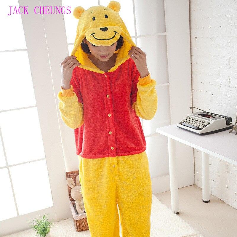 Кигуруми пижамы для взрослых pean onesies костюм животного пижамы унисекс с героями мультфильмов, пижамы