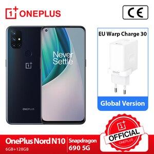 OnePlus Nord N10 5G Глобальная версия 6 ГБ 128 Snapdragon 690 смартфон 6,49
