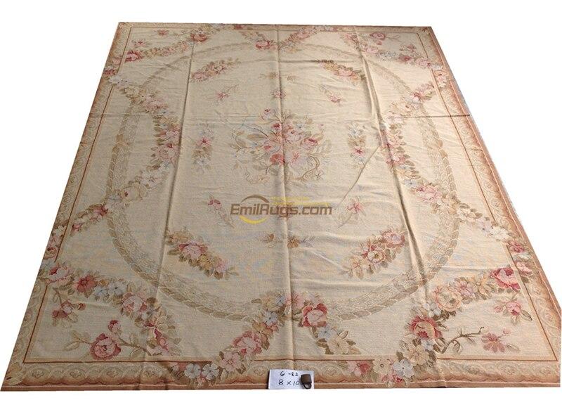 Alfombras de punto needleopint alfombras g-17 8x10