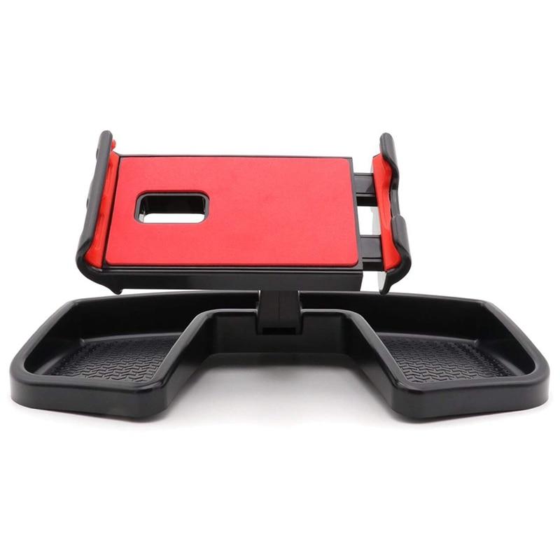 Para Jeep Renegade Ipad teléfono y soporte para Gps para coche rotación de 360 grados con organizador de almacenamiento ajustable soporte de soporte móvil K