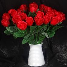 1 pieza de jabón simulado salón de bodas florero de decoración para Casa Flores falsas
