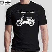 Футболка Schwalbe Simson Habicht Ifa, мопед, мотоцикл, осталги, Ddr, Suhl, Veb, футболка в стиле хип-хоп