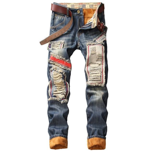NEW Designer Fashion Streetwear Jeans 6