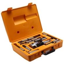 Cabezal de taladrado NT40/ISO40, F1-18 de 75mm con vástago NT40/ISO40 y 12 Uds., juego de cabezal de taladrado de 18mm
