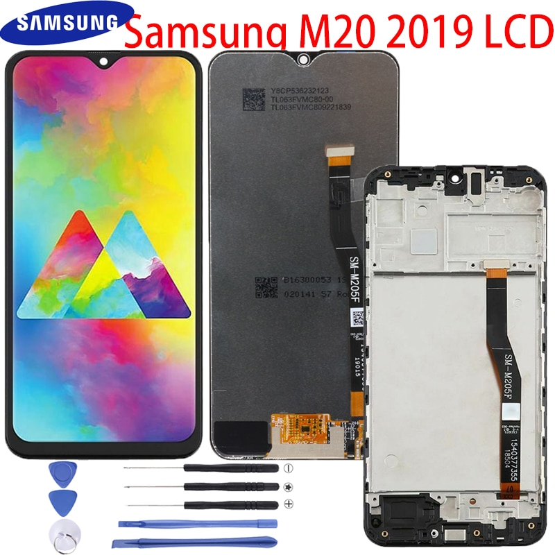11 0 lcd for samsung galaxy tab s7 t870 lcd display touch screen digitizer assembly for samsung sm t870 t875 t876b lcd screen Original 6.3'' LCD For SAMSUNG Galaxy M20 2019 SM-M205 M205F LCD Display Touch Screen Digitizer Assembly replacement parts