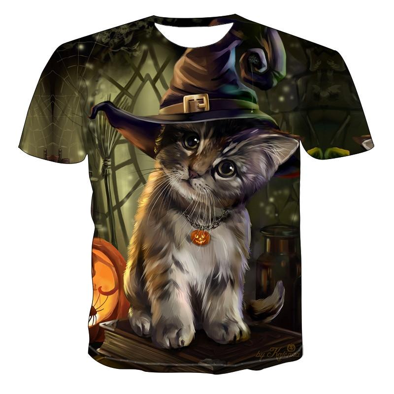 2021 Men's New Personalized T-Shirt Animal Print T-Shirt 3D Men's T-Shirt Novelty Animal Tops T-Shirt Men's Short Sleeve