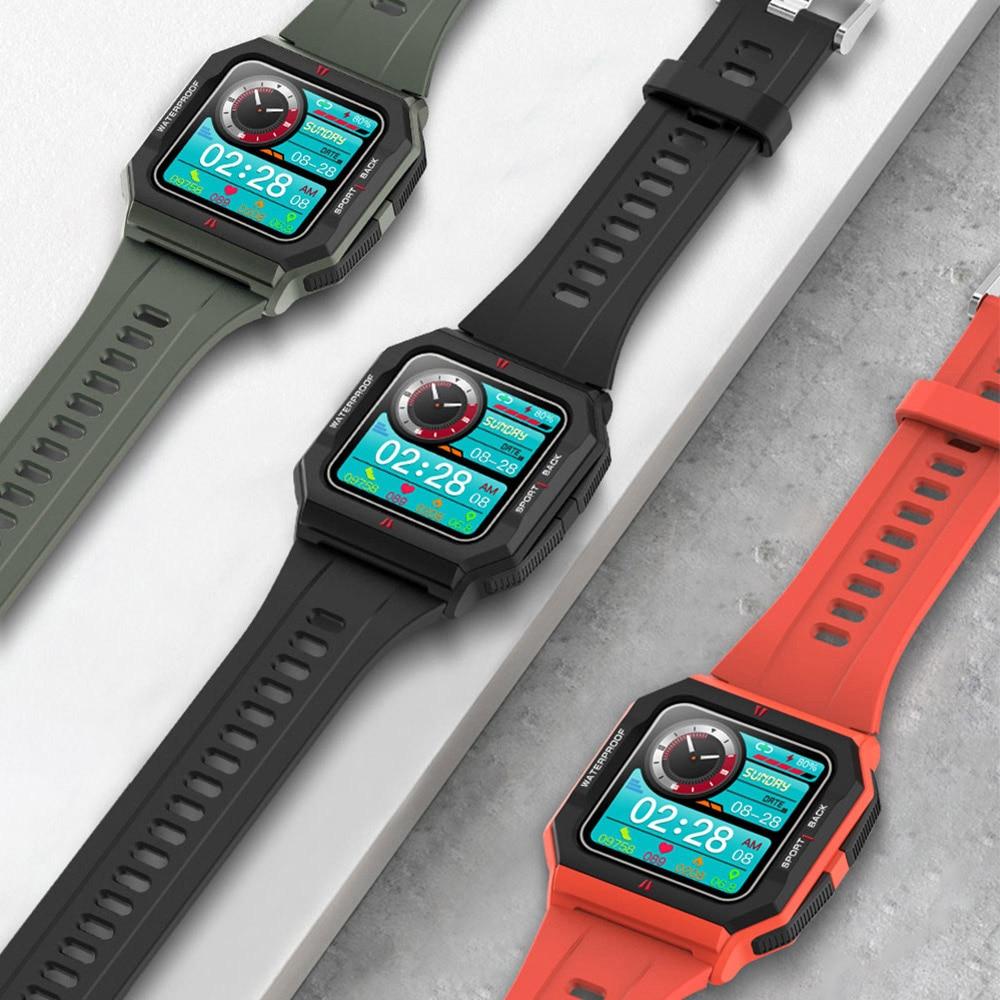 Mijia Smart Watch Men Full Touch Heart Rate Monitor IP67 Waterproof Fitness Tracker Neo Smartwatch For Xiaomi IOS Phone