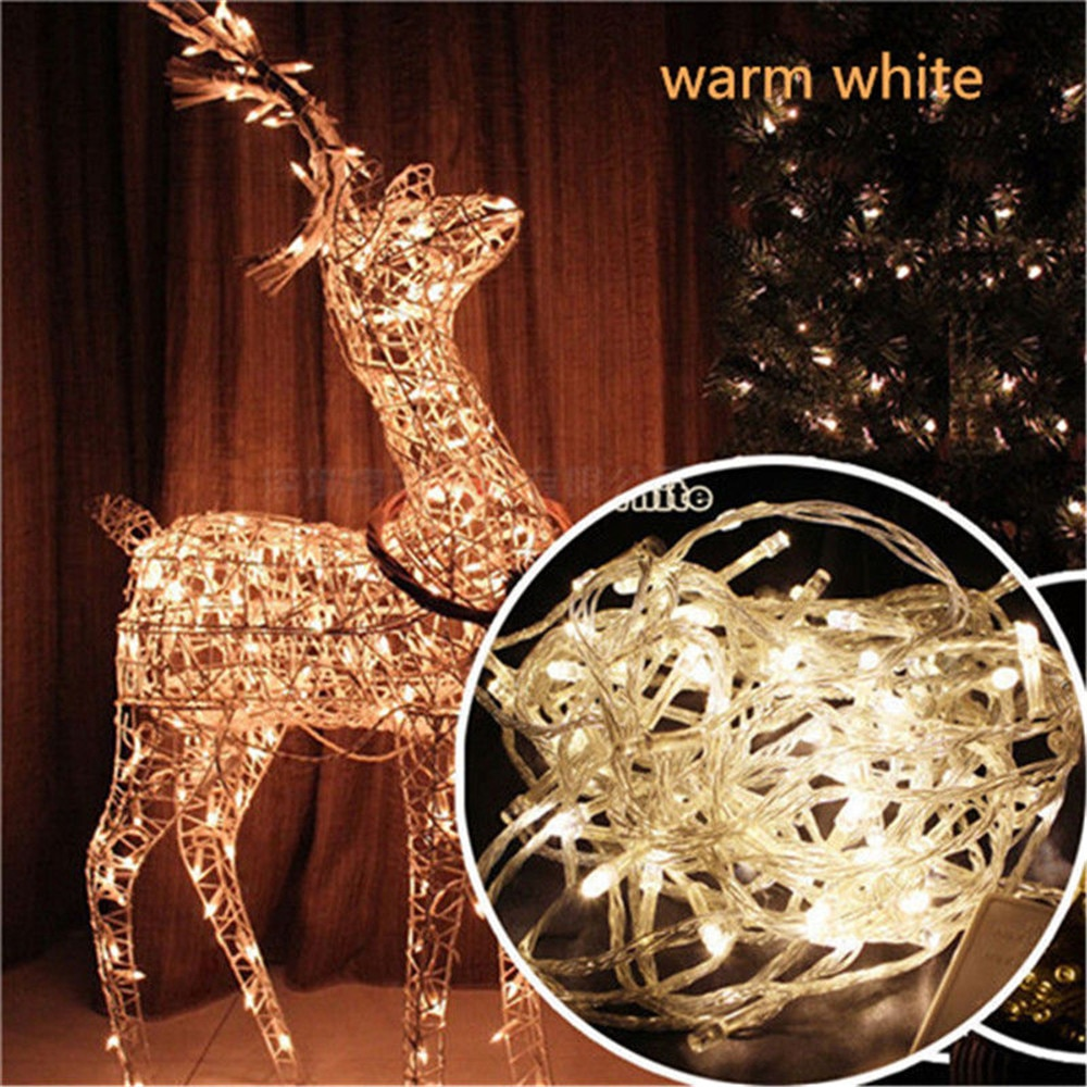 led strip 5m 10m led fairy light string outdoor garland christmas wedding party decoration usb battery operated silver copper LED String Lights 10M 6M 3M USB Outdoor Battery Operated Garland Christmas Decoration Holiday Party Wedding Xmas Fairy Lights