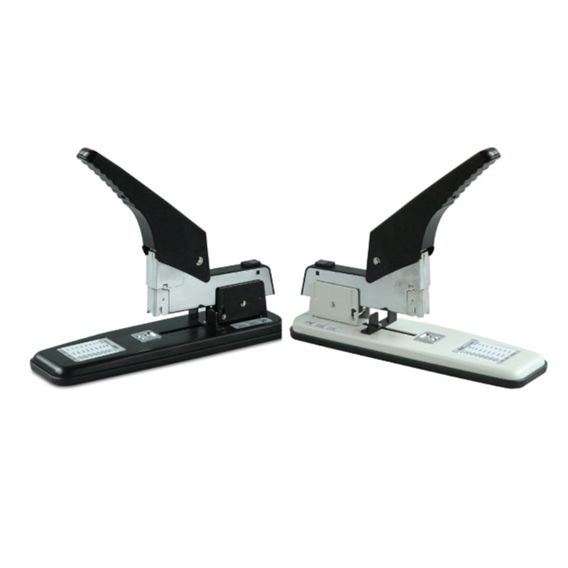 Heavy Duty Metal Stapler Bookbinding Stapling 210 Pages Capacity Office Tools Fit Staples(Pins) 24/6 23/23 23/17 23/10