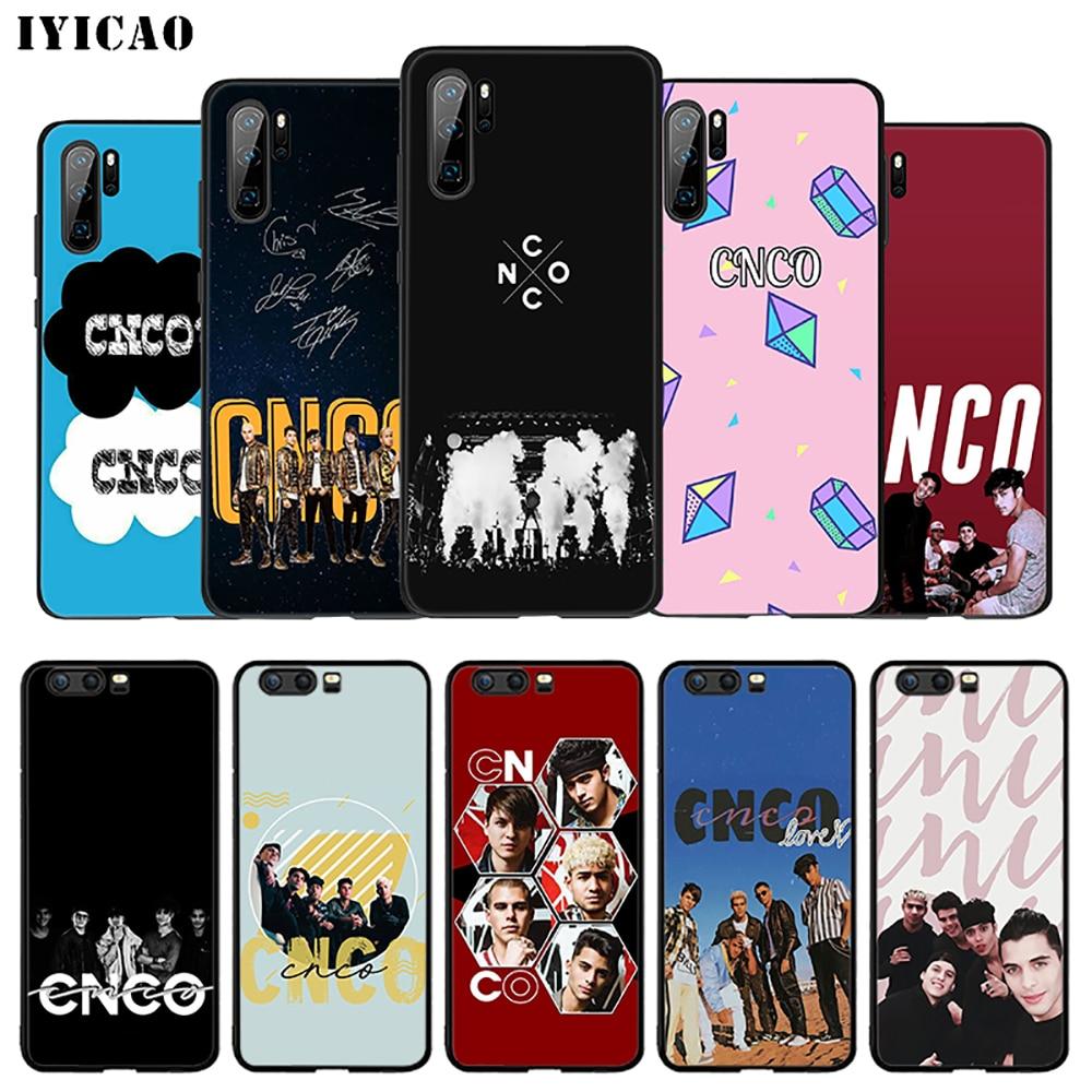 IYICAO CNCO Band Soft Case for Huawei Mate 30 20 10 lite Pro Y6 Y7 Y9 Prime 2018 & Nova 3i 3 2 4 2i 5i