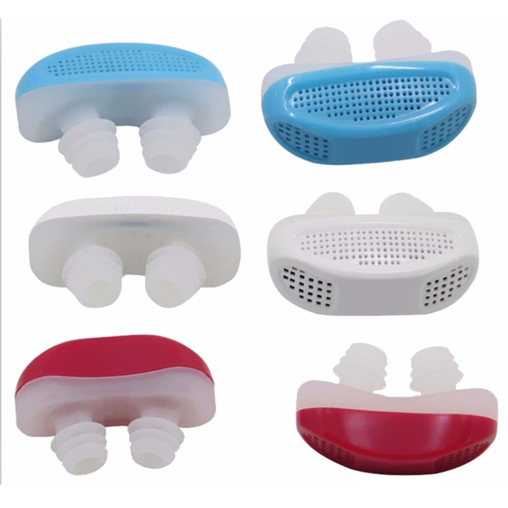 Anti-snoring remove snoring Respiratory device Mini sleep aid Anti-snoring improve nasal congestion nose clip Silicone tools