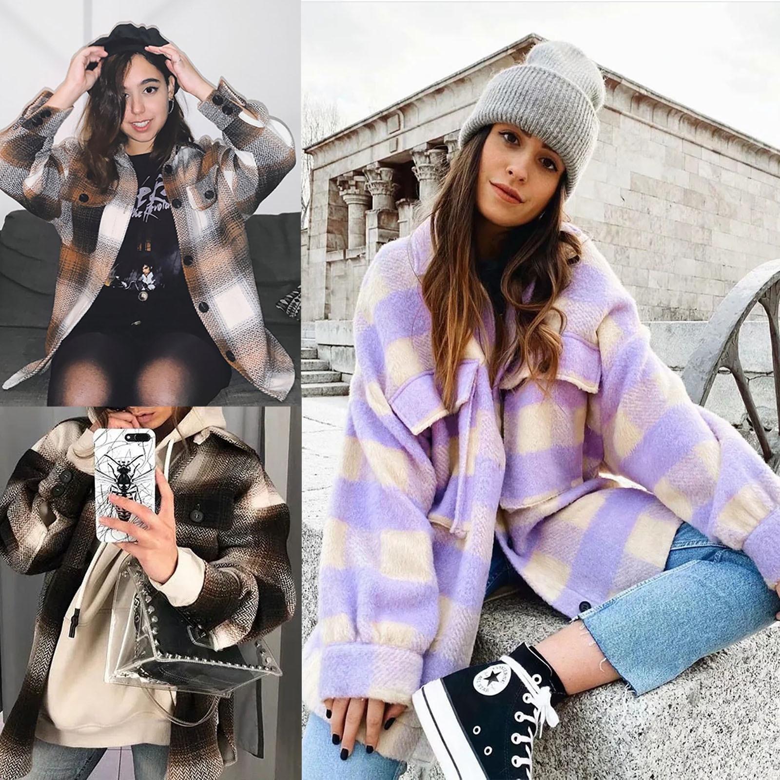 Abrigo de Invierno con capucha para Mujer, chaqueta cálida, abrigo cortavientos de...