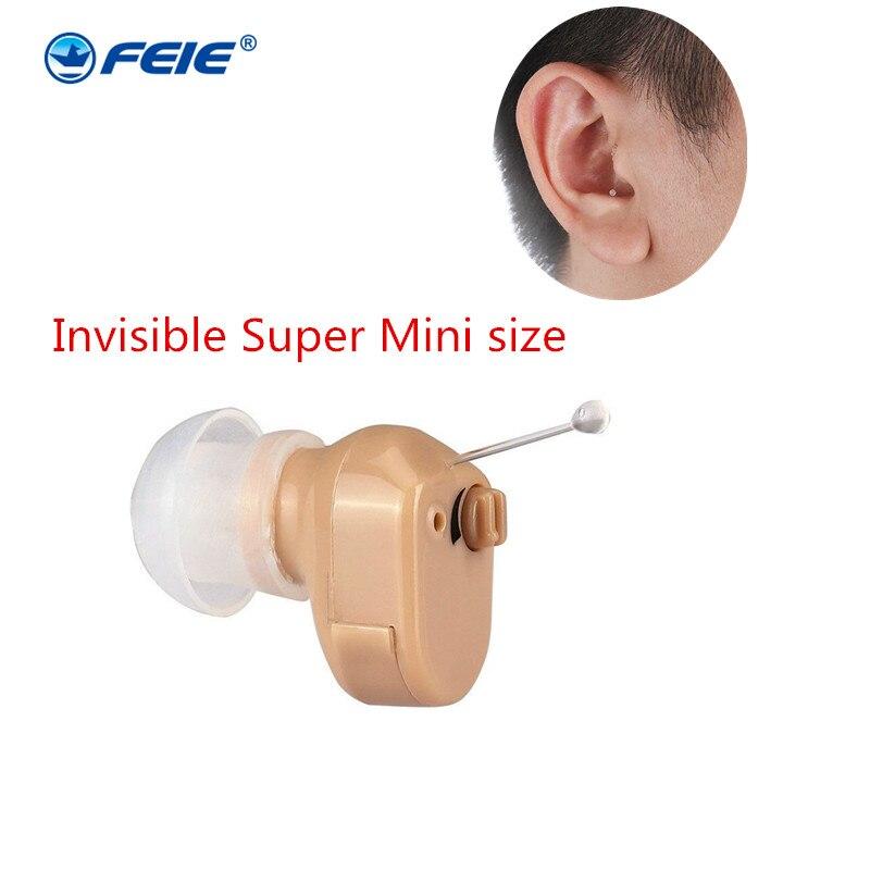 Micro Invisible CIC audífono Digital Mini audífonos para la pequeña ITE oído SIDA audiencia amplificador S-900A