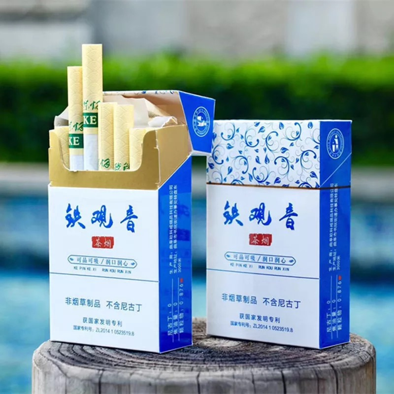 سيجارة للتوقف عن التدخين ، شاي أسود ، شاي أعشاب ، خالية من التبغ 100% ، نيكوتين ، 100%