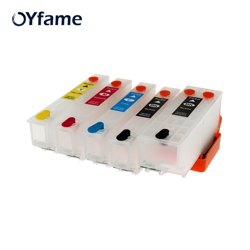 OYfame T33 T3351Ink Cartucho T33xl T3351 T3361 T3362 T3363 Recarga do cartucho de tinta Para Impressora Epson xp530 xp900 xp830 xp645 xp635 xp630