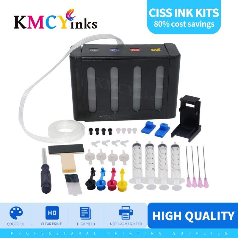 Kmcyink كيبك لكانون Pixma لتقوم بها بنفسك نظام خزان الحبر لكانون PG 440 CL 441 PG440 PG-440 PG 445 CL 446 PG-445 PG445 XL خرطوشة