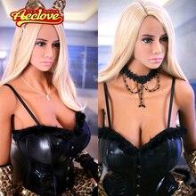 Aeclove 165cm poupée sexuelle réel plein Silicone haute qualité gros seins énorme cul Protrding et gauchissant adulte amour poupées pour homme