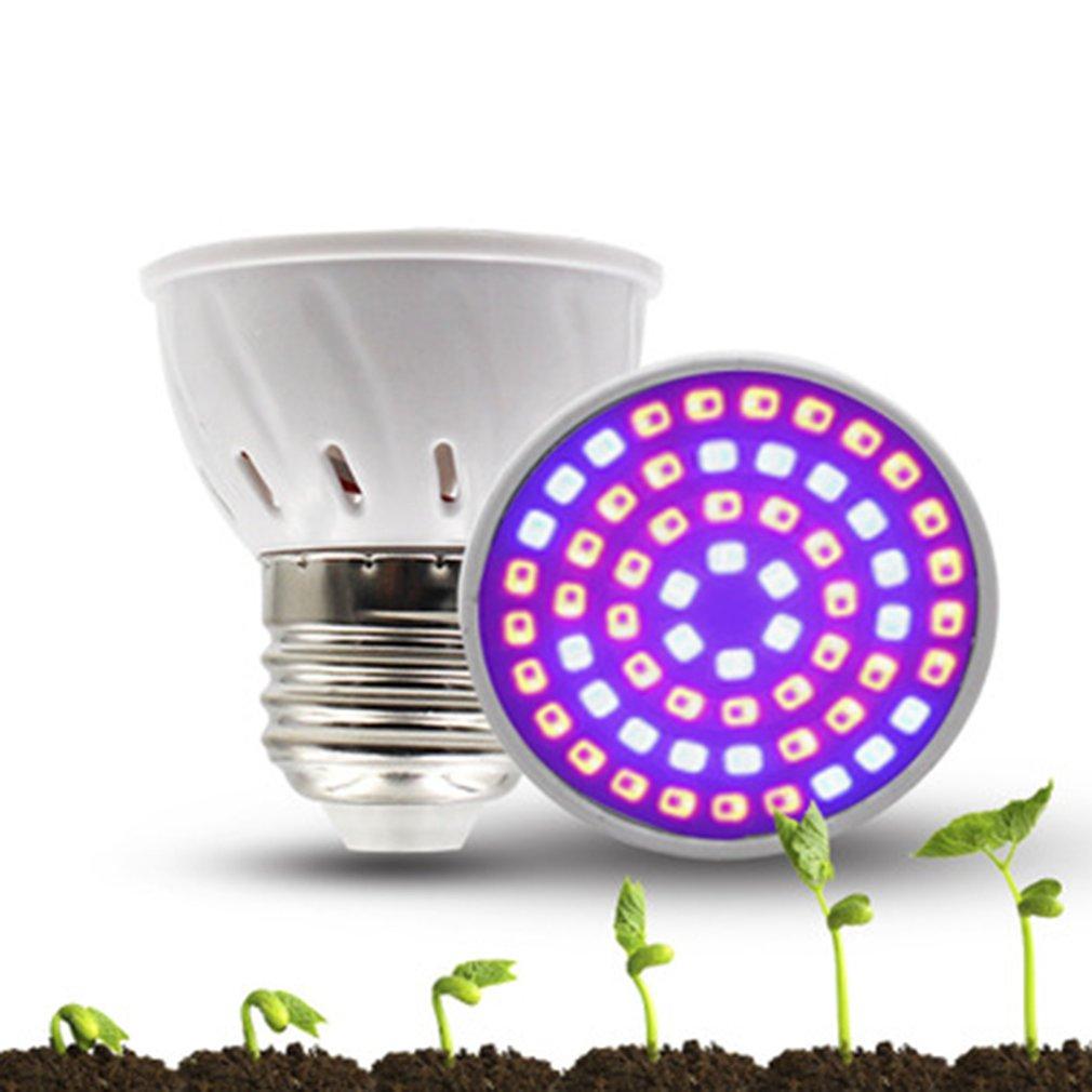 3W plante croissance lumière jardin grandir boîte fleur semis 110V plante pot pépinière remplir lumière intérieur plante lampe 1 pièces