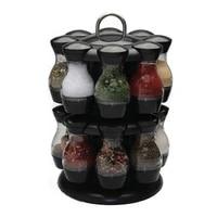rotating spice rack jars for spices salt pepper spicy container seasoningjar holder kitchen organizer storage pepper spray