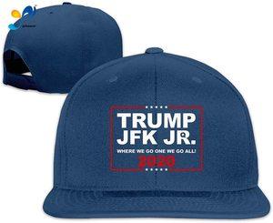 Yellowpods Donald Trump & JFK Jr Q 2020 Men's Relaxed Medium Profile Adjustable Baseball Cap