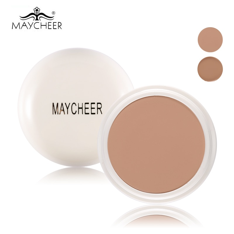 MAYCHEER Brand Full Cover Concealer cream Makeup Primer Cover Foundation Base Lasting Oil Control Cream Concealer недорого