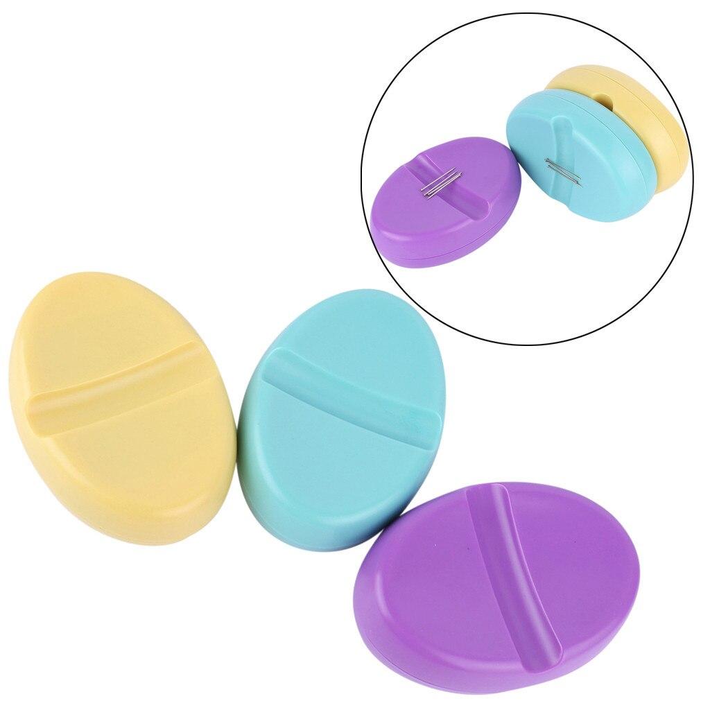 Alfiler de alfiler magnético Clip de papel Caddy para agujas de coser alfiler magnético cojín ganchos de ganchillo aguja de almacenamiento