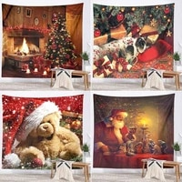new photography backgrounds christmas new year tapestry home decoration background tapestry photography backgrounds