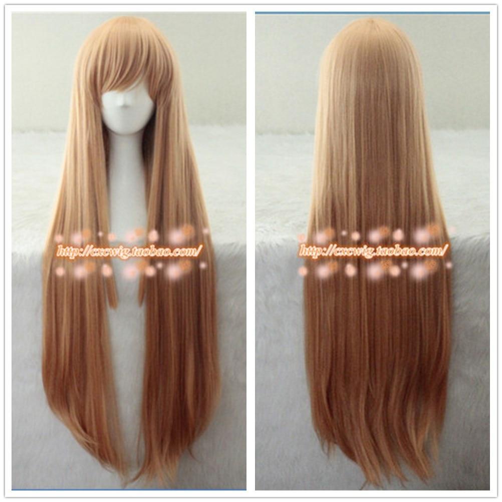 100cm/ 39inch Food Wars Shokugeki no Soma Nakiri erina cosplay wig Nakiri erina role play hair wig costumes
