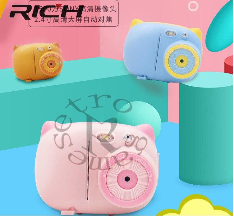 Neue für Polaroid Instant Photo Kamera kinder Kamera Mini Spielzeug ffor Polaroid Digital Kleine SLR Kamera