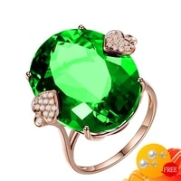 classic ring for women 925 silver jewelry oval shape sapphire zircon gemstone accessories wedding party finger rings wholesale