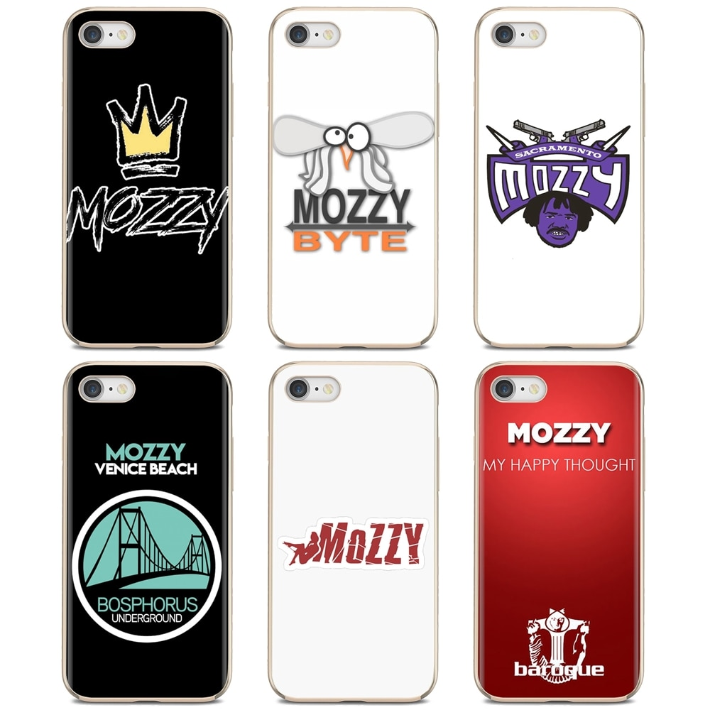 Mobile Phone Cover mozzy Logo For iPod Touch iPhone 10 11 12 Pro 4S 5S SE 5C 6 6S 7 8 X XR XS Plus M