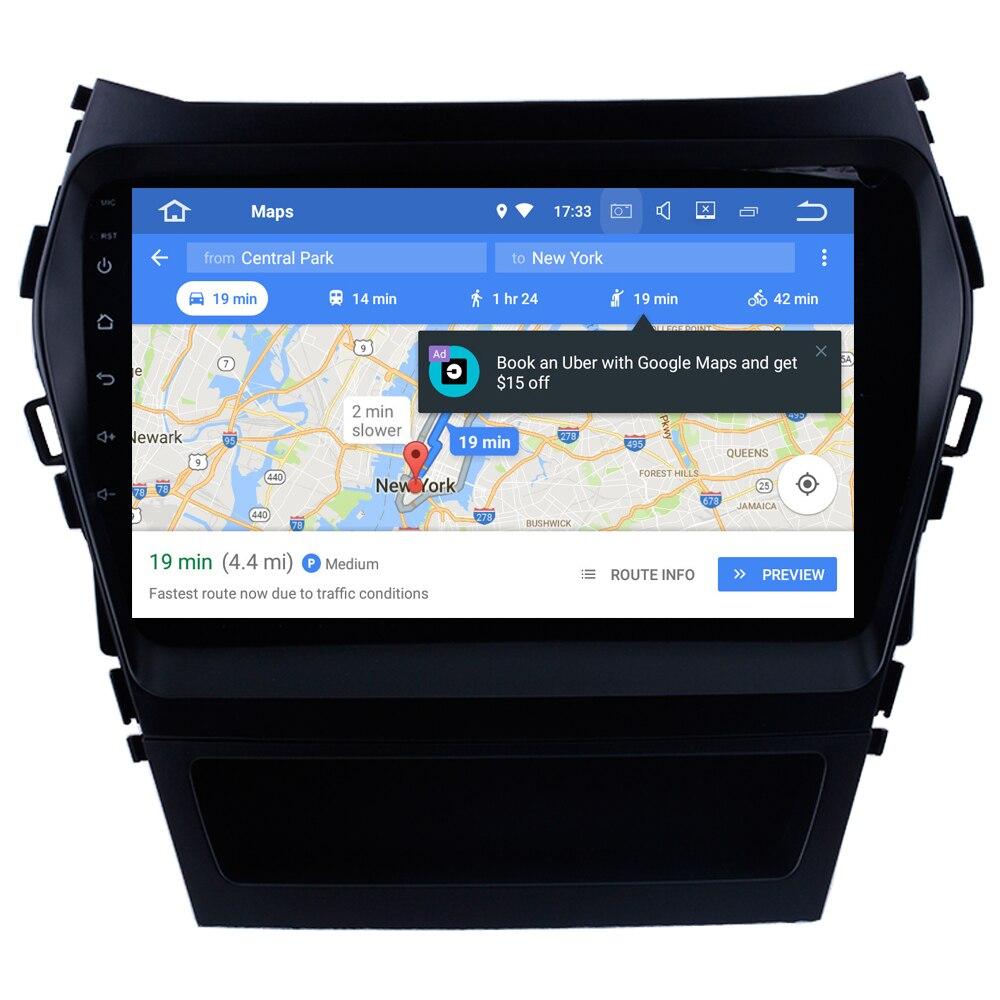 Автомобильный мультимедийный плеер для Hyundai IX45 Santa Fe Santafe 2013 + Android 8,1 автозапчасти аксессуары Стайлинг тюнинг MirrorLink